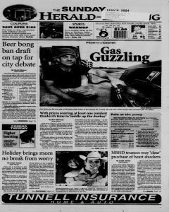 New Braunfels Herald Zeitung, May 09, 2004, Page 1