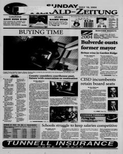 New Braunfels Herald Zeitung, May 16, 2004, Page 1