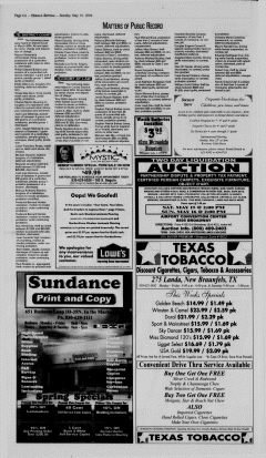 New Braunfels Herald Zeitung, May 16, 2004, Page 6