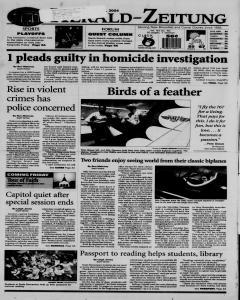 New Braunfels Herald Zeitung, May 18, 2004, Page 1