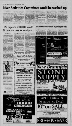 New Braunfels Herald Zeitung, May 30, 2004, Page 8