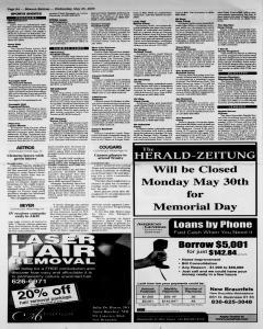 New Braunfels Herald Zeitung, May 25, 2005, Page 8