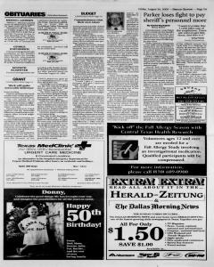 New Braunfels Herald Zeitung, August 26, 2005, Page 3