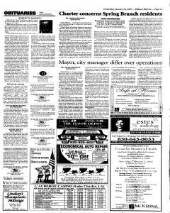 New Braunfels Herald Zeitung, January 24, 2007, Page 3