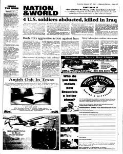 New Braunfels Herald Zeitung, January 27, 2007, Page 5
