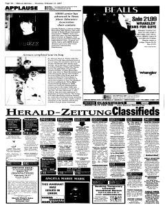 New Braunfels Herald Zeitung, February 15, 2007, Page 12