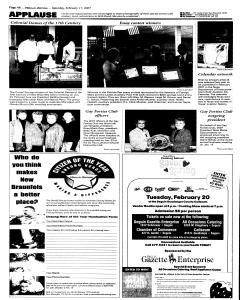 New Braunfels Herald Zeitung, February 17, 2007, Page 14