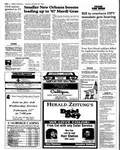 New Braunfels Herald Zeitung, February 20, 2007, Page 2