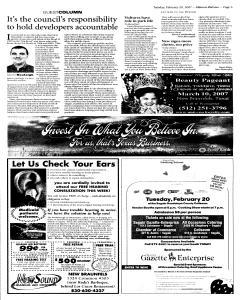 New Braunfels Herald Zeitung, February 20, 2007, Page 5