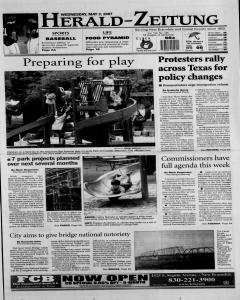 New Braunfels Herald Zeitung, May 02, 2007, Page 1