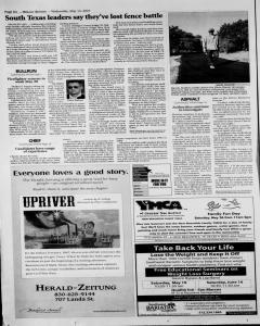 New Braunfels Herald Zeitung, May 16, 2007, Page 8