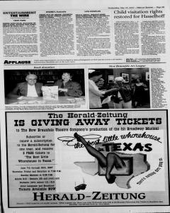 New Braunfels Herald Zeitung, May 23, 2007, Page 15