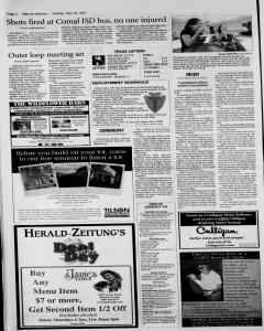 New Braunfels Herald Zeitung, May 29, 2007, Page 2