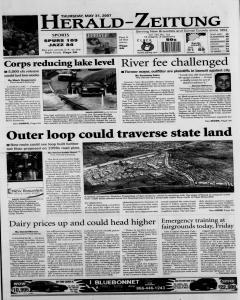 New Braunfels Herald Zeitung, May 31, 2007, Page 1