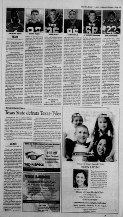 New Braunfels Herald Zeitung, January 01, 2011, Page 13