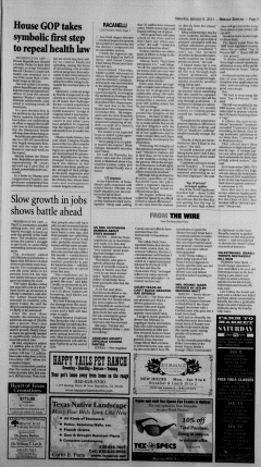 New Braunfels Herald Zeitung, January 08, 2011, Page 3