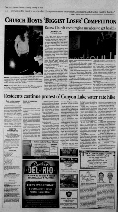 New Braunfels Herald Zeitung, January 09, 2011, Page 2