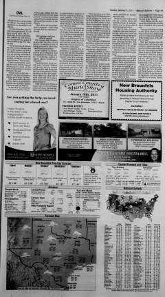New Braunfels Herald Zeitung, January 09, 2011, Page 9