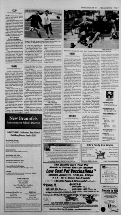 New Braunfels Herald Zeitung, January 14, 2011, Page 7