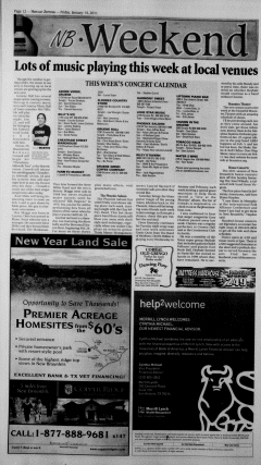 New Braunfels Herald Zeitung, January 14, 2011, Page 12