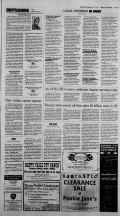 New Braunfels Herald Zeitung, January 15, 2011, Page 3
