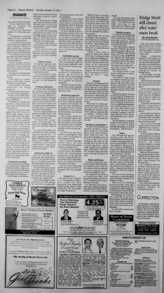 New Braunfels Herald Zeitung, January 16, 2011, Page 2