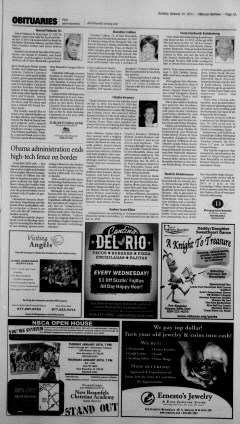 New Braunfels Herald Zeitung, January 16, 2011, Page 3