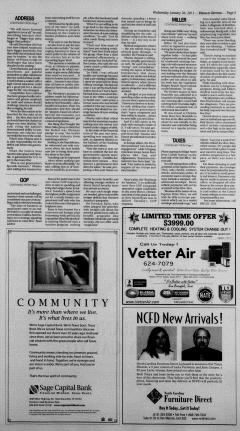 New Braunfels Herald Zeitung, January 26, 2011, Page 5