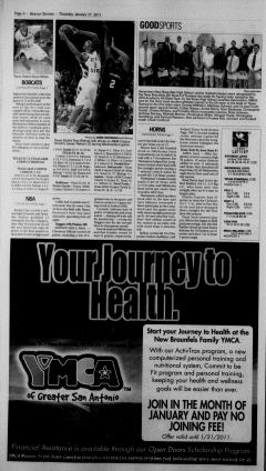 New Braunfels Herald Zeitung, January 27, 2011, Page 8