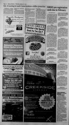 New Braunfels Herald Zeitung, January 27, 2011, Page 12