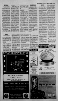 New Braunfels Herald Zeitung, January 29, 2011, Page 5