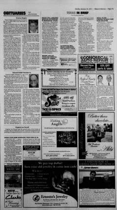 New Braunfels Herald Zeitung, January 30, 2011, Page 3