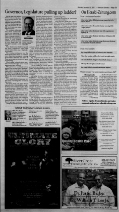 New Braunfels Herald Zeitung, January 30, 2011, Page 5