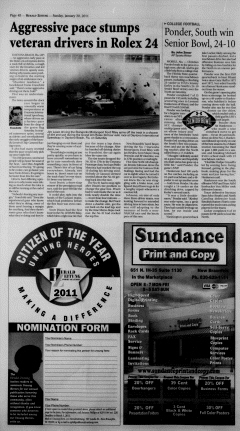 New Braunfels Herald Zeitung, January 30, 2011, Page 16
