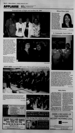 New Braunfels Herald Zeitung, January 30, 2011, Page 22