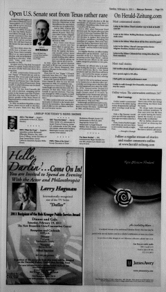 New Braunfels Herald Zeitung, February 06, 2011, Page 5