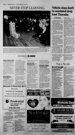 New Braunfels Herald Zeitung, February 18, 2011, Page 2