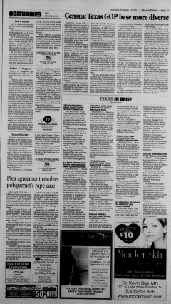 New Braunfels Herald Zeitung, February 19, 2011, Page 3