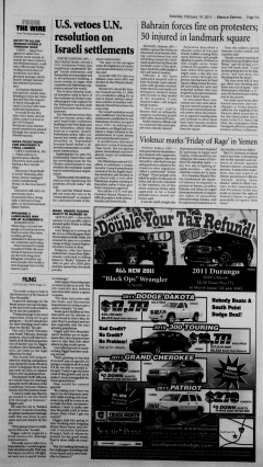 New Braunfels Herald Zeitung, February 19, 2011, Page 5