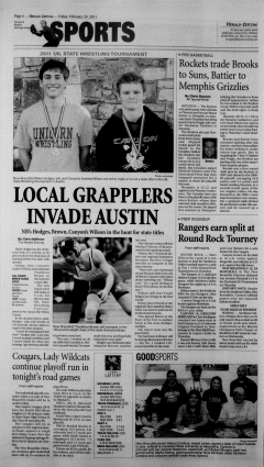 New Braunfels Herald Zeitung, February 25, 2011, Page 6