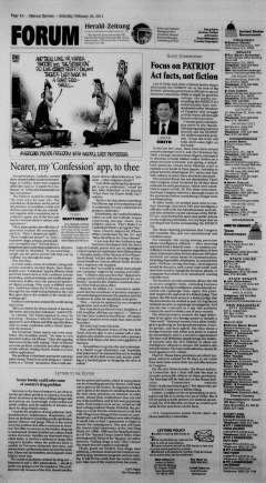 New Braunfels Herald Zeitung, February 26, 2011, Page 4