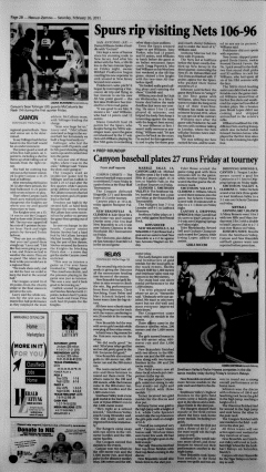 New Braunfels Herald Zeitung, February 26, 2011, Page 14