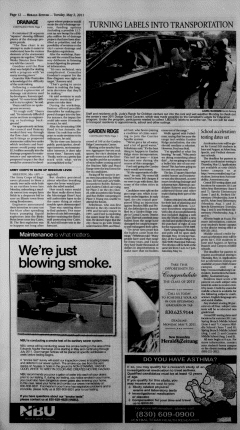 New Braunfels Herald Zeitung, May 03, 2011, Page 12