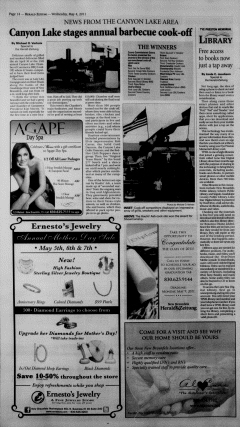 New Braunfels Herald Zeitung, May 04, 2011, Page 14