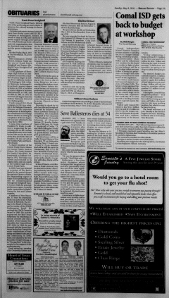 New Braunfels Herald Zeitung, May 08, 2011, Page 3