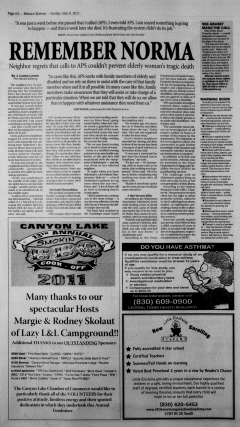 New Braunfels Herald Zeitung, May 08, 2011, Page 6