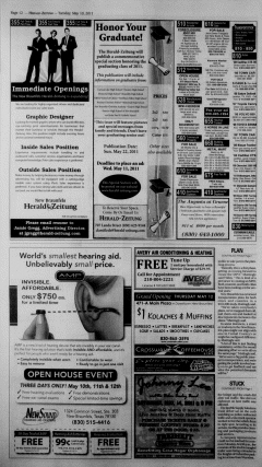 New Braunfels Herald Zeitung, May 10, 2011, Page 12