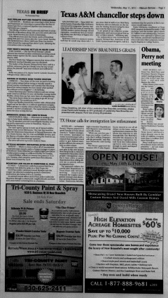 New Braunfels Herald Zeitung, May 11, 2011, Page 5