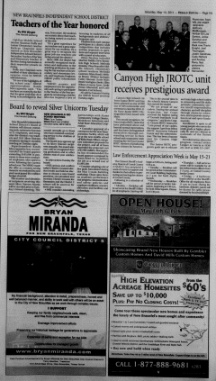 New Braunfels Herald Zeitung, May 14, 2011, Page 5