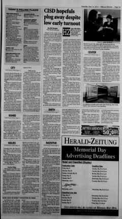 New Braunfels Herald Zeitung, May 14, 2011, Page 9